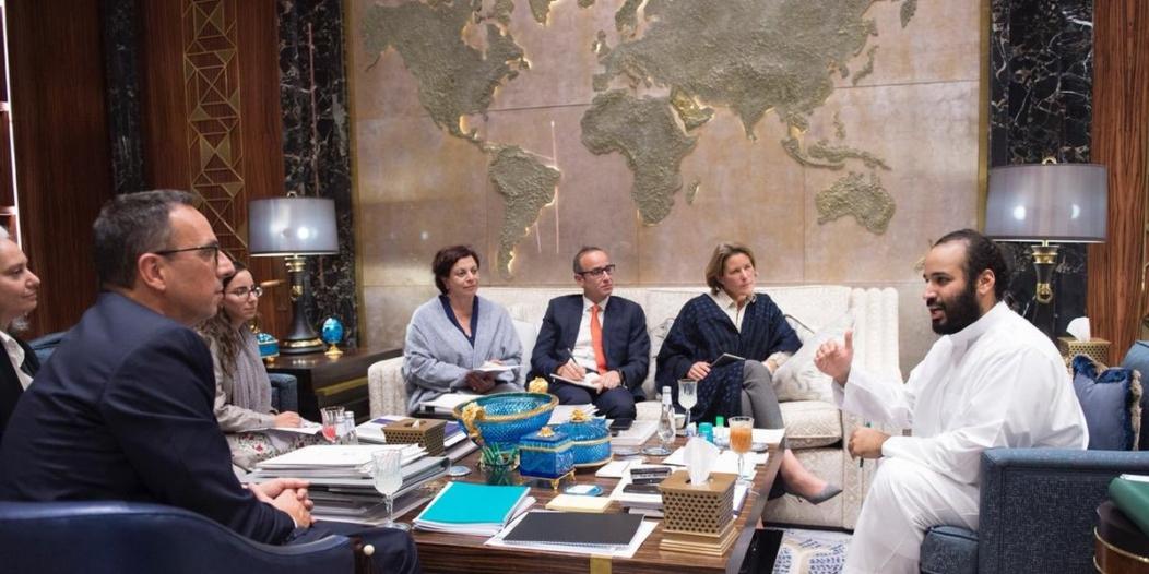 ولي العهد متعجبًا من رفض غير السعوديين إدارة مسك: بالله عليكم ما الذي يحدث؟