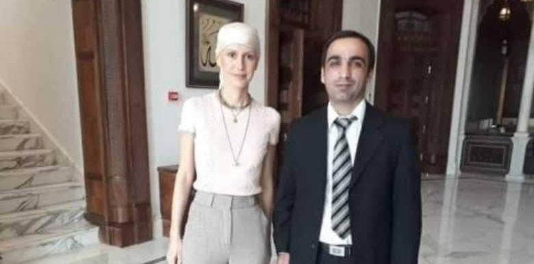 صور.. السرطان يُغير ملامح أسماء الأسد بعد شهرين من إعلان إصابتها بالمرض