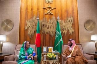 ولي العهد يبحث العلاقات الثنائية مع رئيسة وزراء بنجلاديش - المواطن