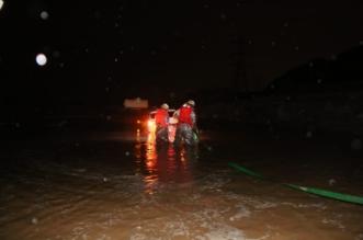 صور.. مدني مكة يباشر بلاغات احتجاز بسبب الأمطار - المواطن