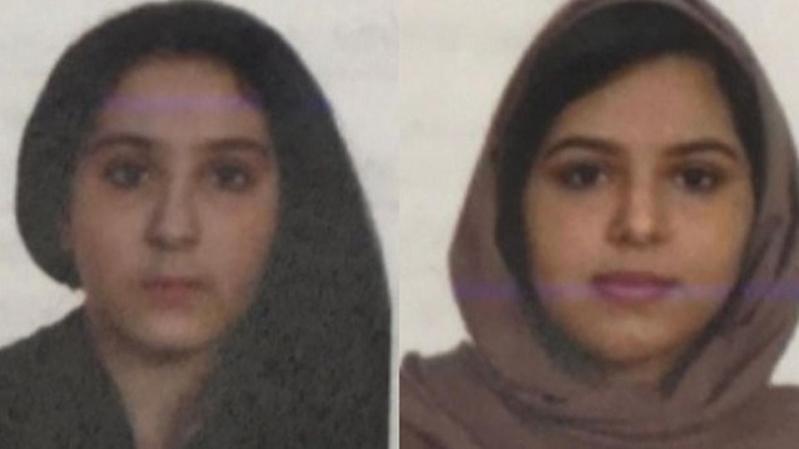 شرطة نيويورك تنشر صورة حديثة للشقيقتين السعوديتين الغريقتين