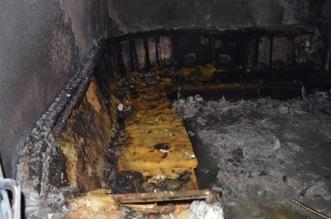 صور.. إصابة 14 بينهم 10 أطفال في حريق قاعة أفراح بتبوك - المواطن