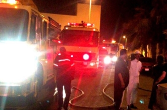 إصابة 9 أشخاص بينهم 3 رضّع في حريق فيلا بجدة - المواطن