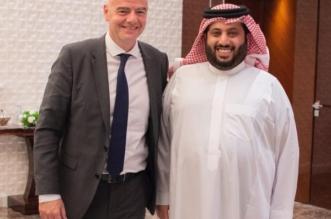 تركي آل الشيخ: أدعم إنفانتينو لرئاسة الفيفا مرة آخرى - المواطن