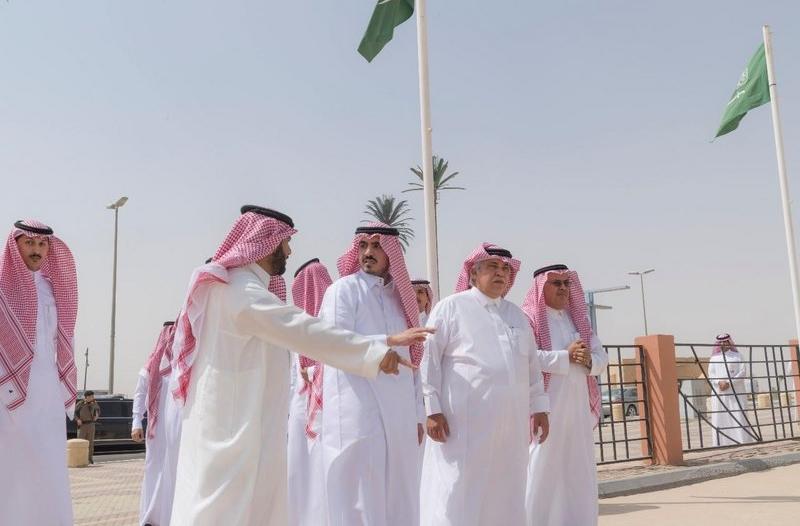 بالصور.. أمير الجوف يصطحب وزيري الثقافة والتجارة بجولة على آثار المنطقة