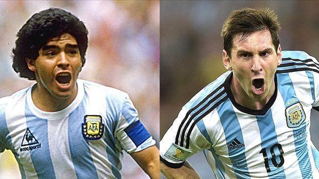 مارادونا: ميسي يدخل دورة المياه 20 مرة فكيف يكون قائدًا!