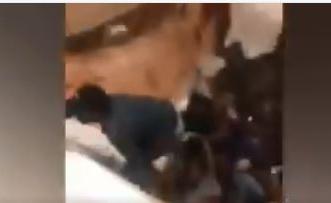لحظة انهيار السقف وسقوط 30 شخصًا في حفلة صاخبة - المواطن