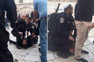 فيديو وصور.. جنود الاحتلال يقتحمون الكنيسة القبطية ويعتدون على رهبان مصريين - المواطن