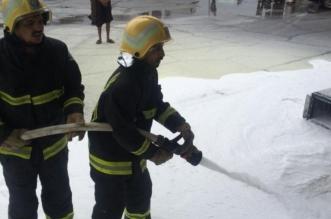 سحب طرمبة البنزين بمركبته فأشعل حريقًا في محطة بخيبر - المواطن
