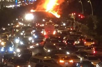 حقيقة انفجار ناقلة نفط بطريق مكة - جدة السريع - المواطن