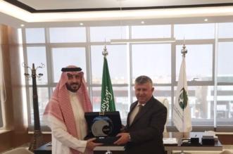 قصي الفواز يستقبل رئيس اتحاد القدم العراقي - المواطن