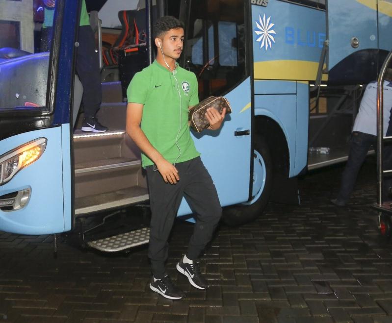 الأخضر الشاب يصل إندونيسيا للاستعداد لـ الآسيوية