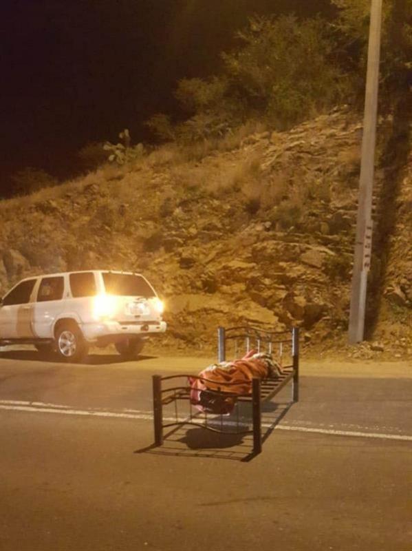 جثة أبها على الطريق .. فيديو وصور تثير الرعب والحقيقة غائبة