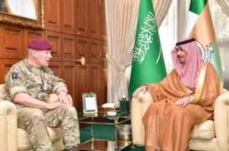 وزير الحرس الوطني يبحث التعاون المشترك مع كبير العسكريين البريطانيين - المواطن