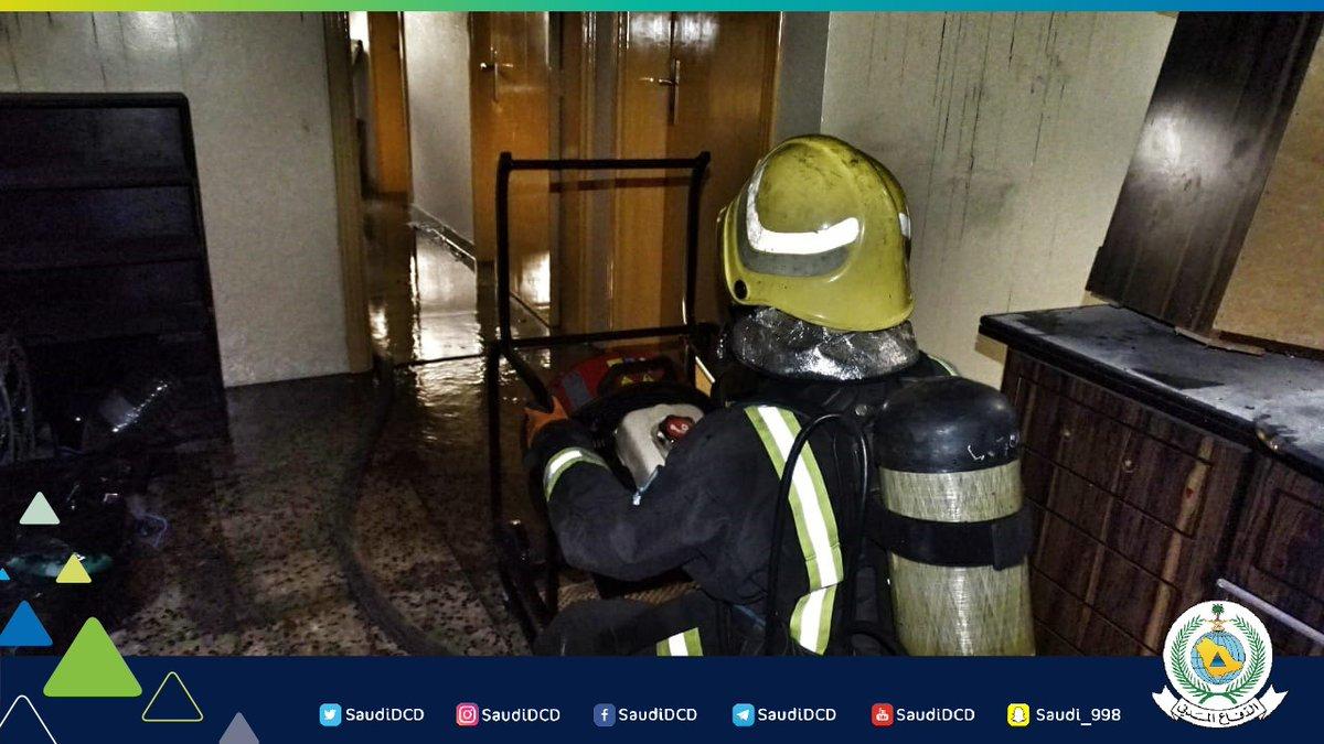 صور.. إصابة رجل وامرأة في حريق غرفة نوم بالقطيف   صحيفة ...