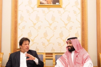 ولي العهد يبحث مع رئيس وزراء باكستان تعزيز التعاون المشترك - المواطن