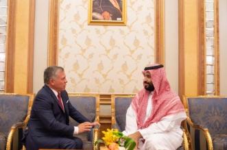 ولي العهد يبحث مع ملك الأردن مجالات التنسيق الثنائي - المواطن