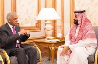 ولي العهد يستعرض الموضوعات ذات الاهتمام المشترك مع رئيس وزراء باكستان السابق - المواطن