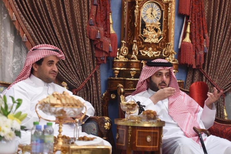 البلطان: سعدت بزيارة آل الشيخ وانتظروا نتائج رائعة في المستقبل