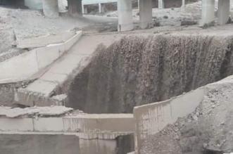 صور وفيديو.. انهيار طرق وجسور في الأردن بسبب السيول - المواطن