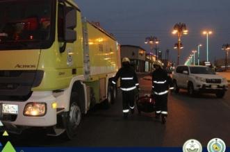 صور.. تسرب غاز يخلي 11 شخصًا برفحاء - المواطن
