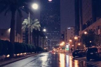 صور.. أمطار الرياض تحول العاصمة للوحة فنية - المواطن