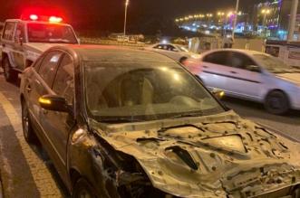 رغم شح المعلومات.. سقوط قائد مركبة صدم سيارات وهرب في عسير - المواطن