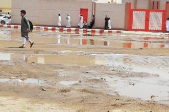فيديو وصور.. مياه ضحلة تعيق الحركة وتحاصر الطلاب في جازان - المواطن