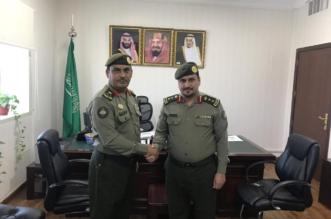 اللواء الهويريني يقلد العتيبي رتبة عقيد - المواطن