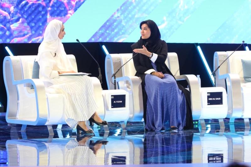 ريما بنت بندر : توقعنا 3 آلاف مشارك فحضر 100000