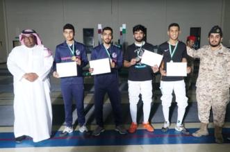 اختتام بطولة المبارزة في الحرس الوطني - المواطن