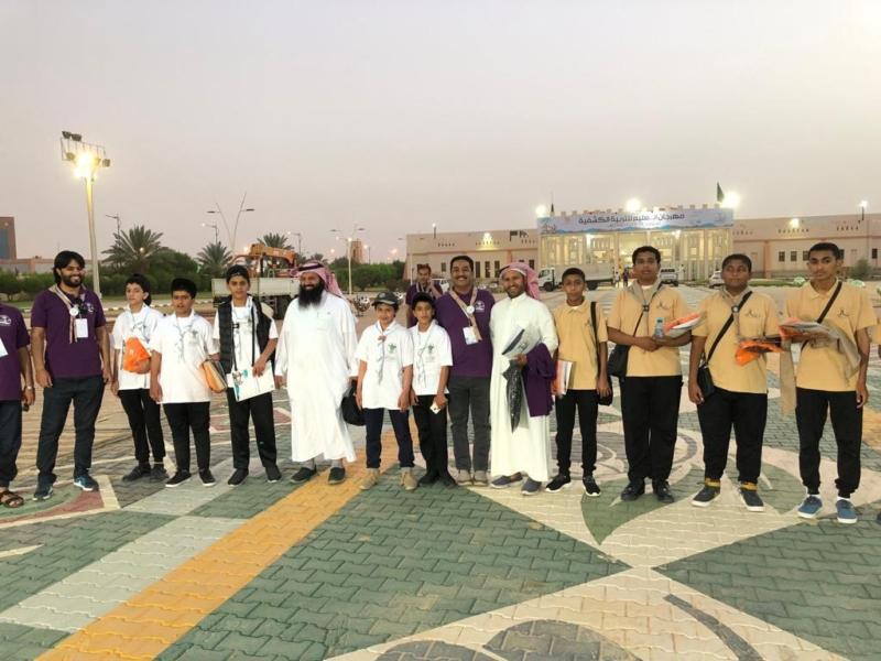 صور.. 180 قائداً وكشافًا من 30 ادارة تعليمية يشاركون بمهرجان التربية الكشفية بالجوف - المواطن