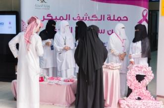 20 ألف مستفيدة بحملة الكشف المبكر عن سرطان الثدي بصحة حفر الباطن - المواطن