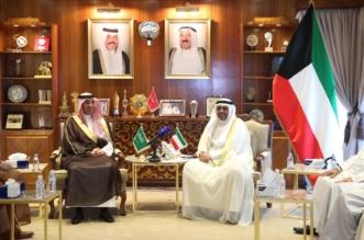وزير الإعلام يبحث مع نظيره الكويتي سبل دعم التعاون المشترك - المواطن
