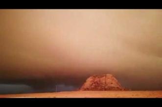 فيديو.. سحابة غدق مهيبة تغطي سماء قرى شمال عفيف - المواطن