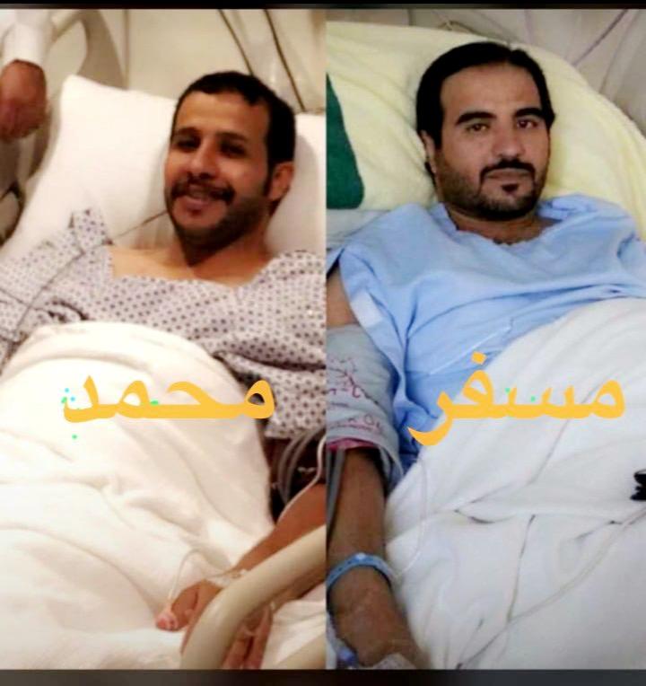 قصة تضحية.. 10 سنوات من المعاناة تنتهي بتبرع محمد بكليته لأخيه في جدة