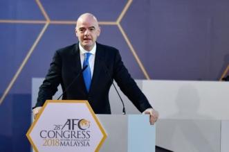 إنفانتينو: الاتحاد الآسيوي يُقدم ما لديه لتطوير كرة القدم - المواطن