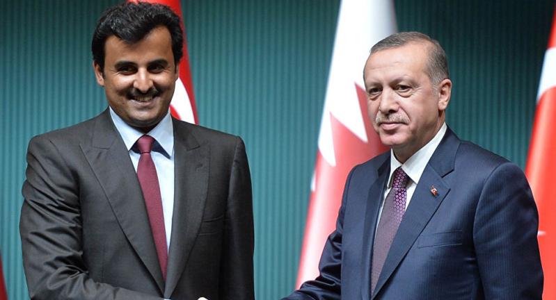 موقع تركي يفضح الصفقة الوهمية بين أردوغان وتميم