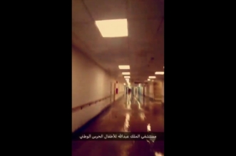 فيديو.. مدينة الملك عبدالله للأطفال بالرياض تغرق في مياه الأمطار! - المواطن