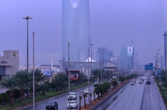 أمطار الرياض 9