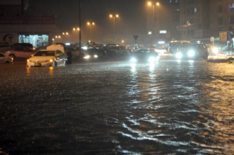 أمطار الكويت 4