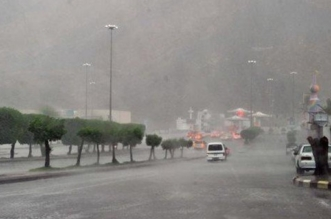 مدني المدينة يحذر الجميع من التقلبات الجوية - المواطن
