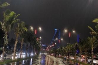 أمطار جدة 2