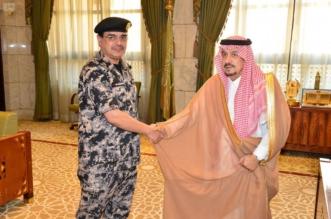 أمير الرياض يقلد قائد قوة أمن المنشآت رتبته الجديدة - المواطن