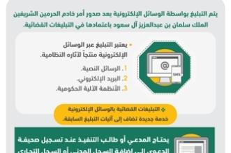 جوالات المدعى عليهم تستقبل 500 ألف رسالة تبليغ إلكتروني - المواطن