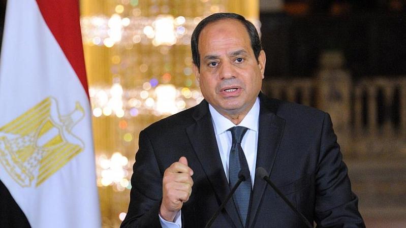 السيسي: نسعى لحل سياسي يحافظ على وحدة ليبيا