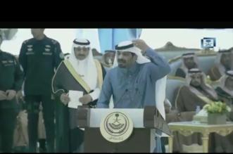 فيديو.. قصيدة حماسية لأكثر من 8 دقائق من الكريع في حضرة الملك - المواطن