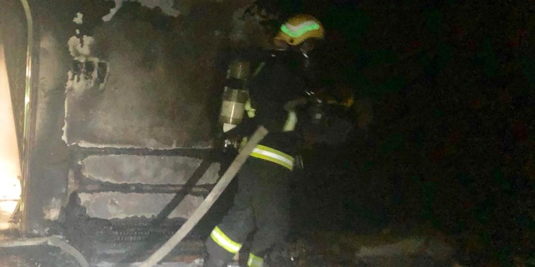 التماس كهربائي يُشعل منزلًا في نجران بدون إصابات