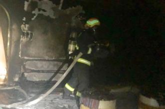 التماس كهربائي يُشعل منزلًا في نجران بدون إصابات - المواطن