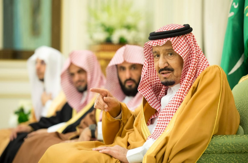 الملك يستقبل أعضاء الأعلى للقضاء والمحكمة العليا والنيابة العامة وديوان المظالم ورؤساء المحاكم - المواطن